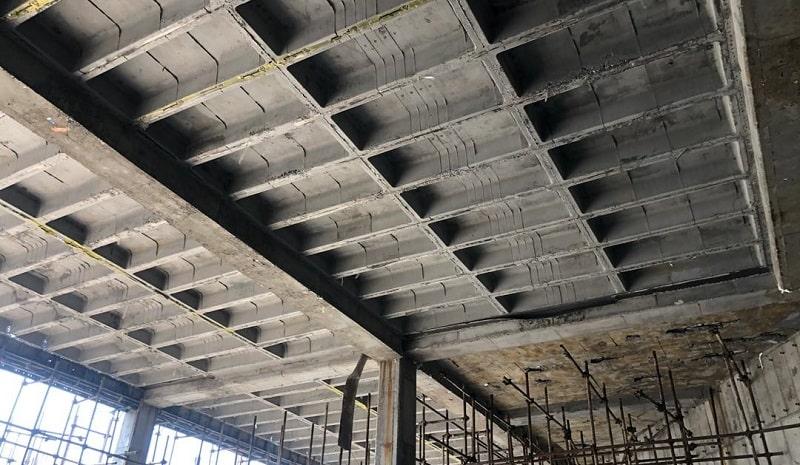 سقف دال بتنی