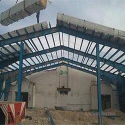 سقف بتنی پیش ساخته گلخانه قم