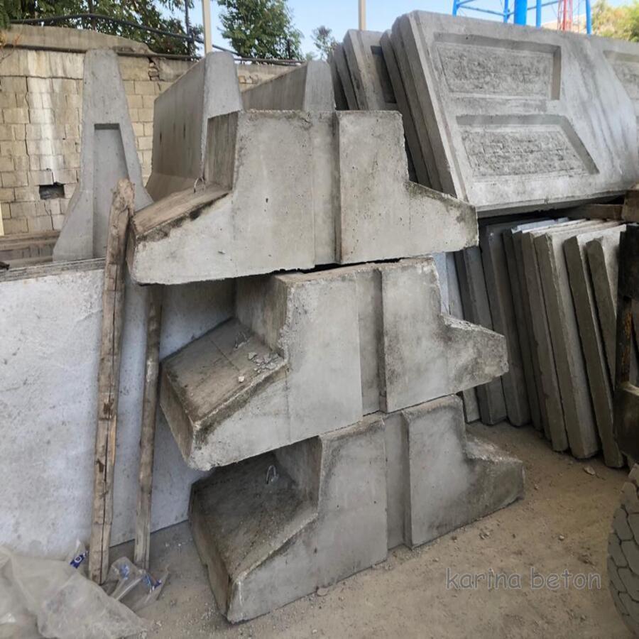 دیوار بتنی پیش ساخته با فونداسیون سنگین نمونه3