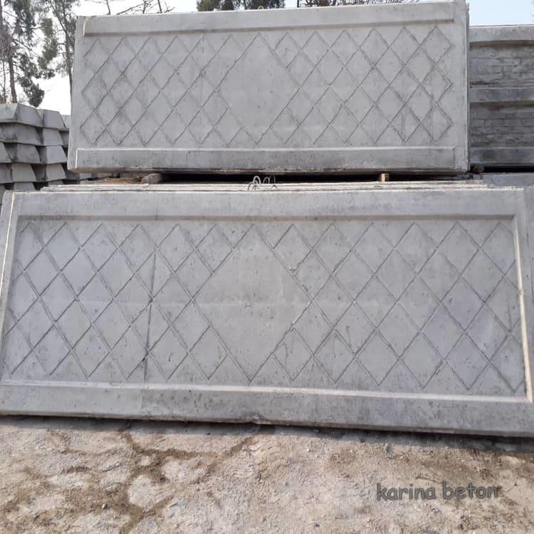 دیوار پیش ساخته بتنی طرح لوزی نمونه چهار