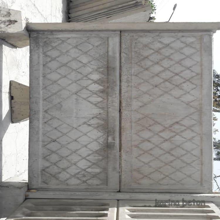 دیوار پیش ساخته بتنی طرح لوزی نمونه سه