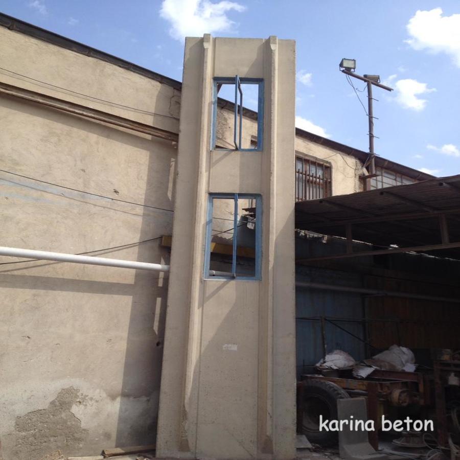 دیوار بتنی پیش ساخته سوله نمونه سه