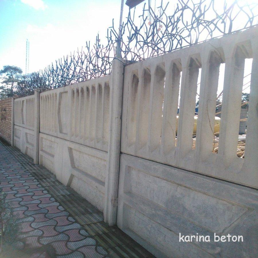 دیوار بتنی پیش ساخته طرح پنجره